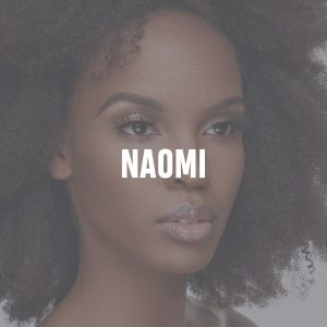 "Mahogany Lashes ""Naomi"" 3D mink eyelash extensions on beautiful African-American model Janay Flowers"