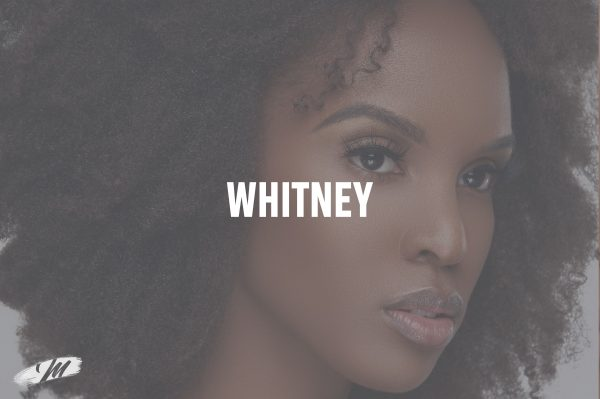 """Mahogany Lashes """"Whitney"""" 3D mink eyelash extensions on beautiful African-American model Janay Flowers"""