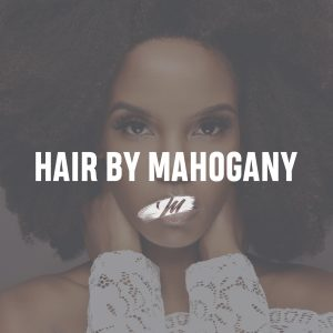 Beautiful African American Hair By Mahogany model with curly afro texture hair.